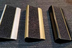 External stair nosing suitable for concrete and all finishes