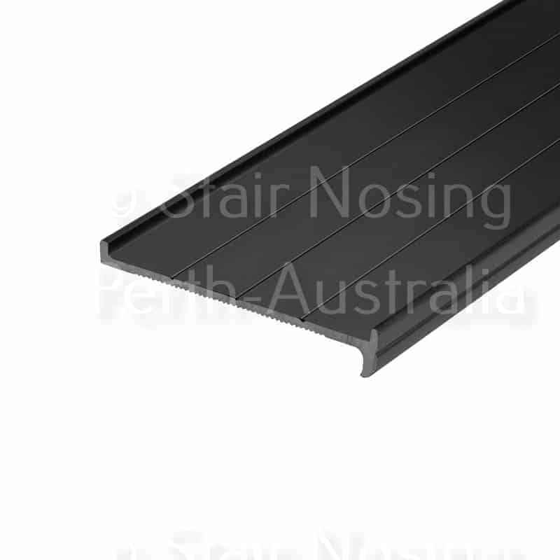 Stair nosing for recessing
