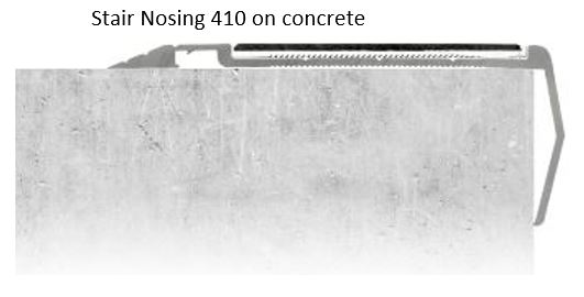 Stair nosing for concrete Perth